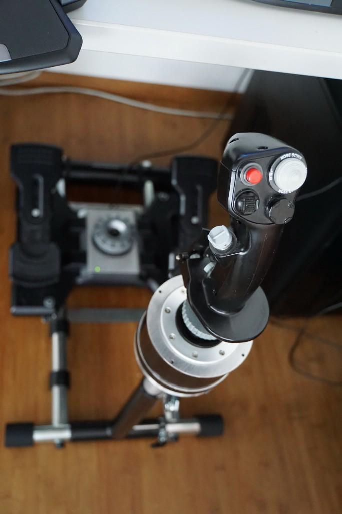 wheel stand pro mit Joystick Adapter für Warthog