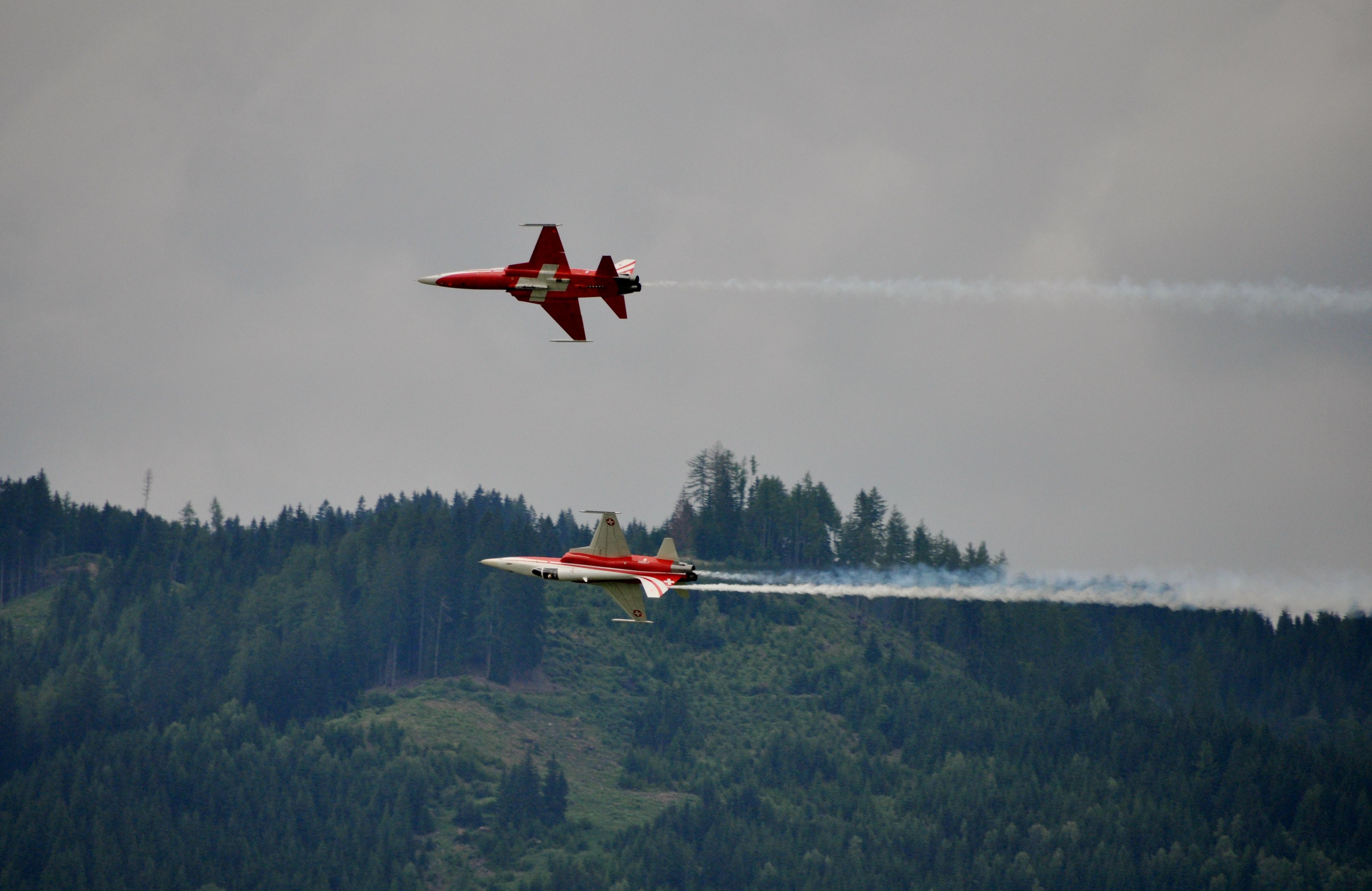 Patroullie Swiss Zeltweg 2011.