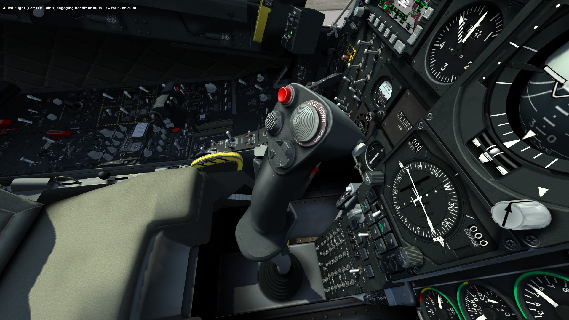DCS A-10C Cockpit.