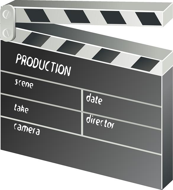 Film-Klappe