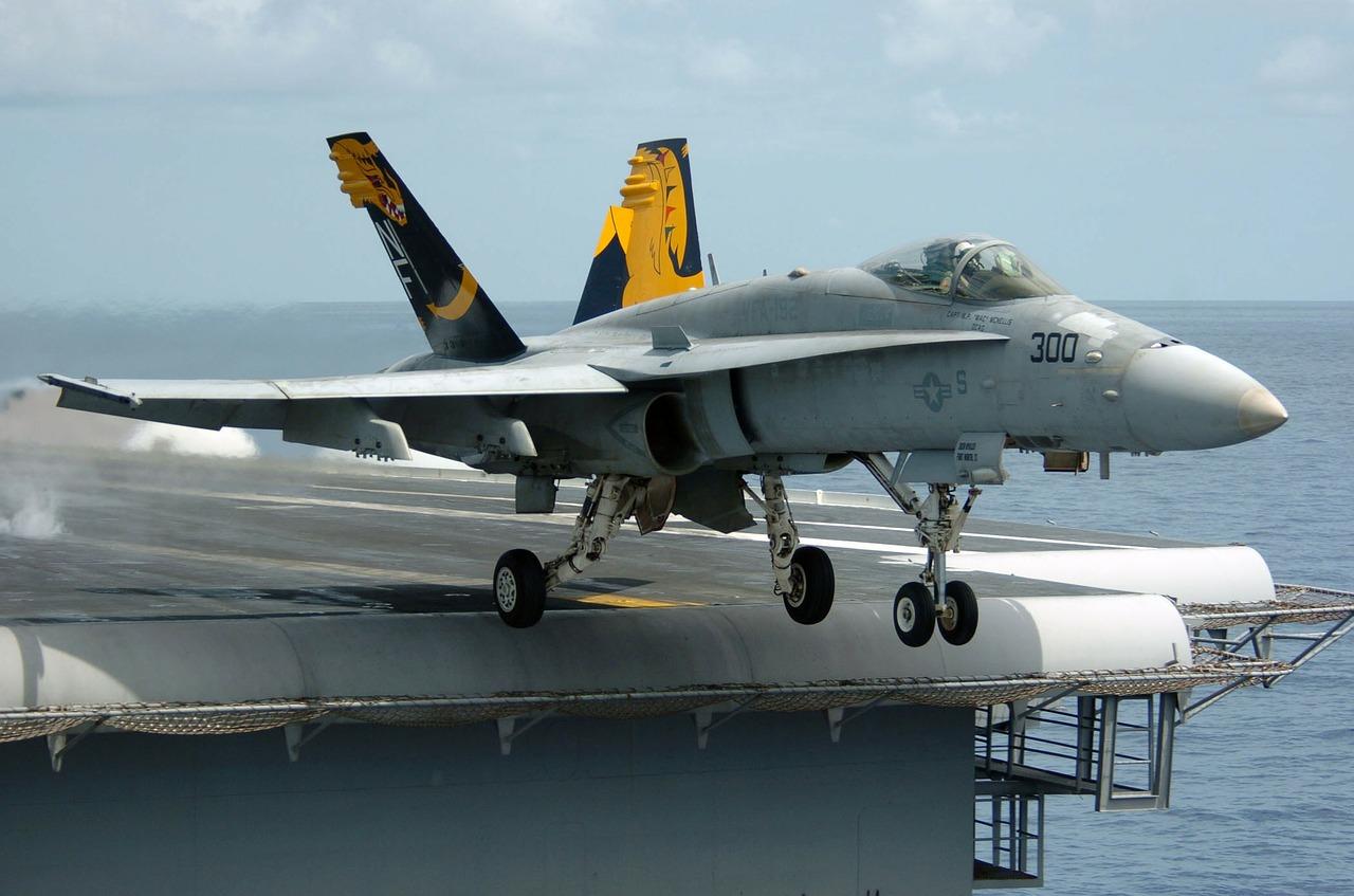 F/A-18C Hornet Katalpultstart.