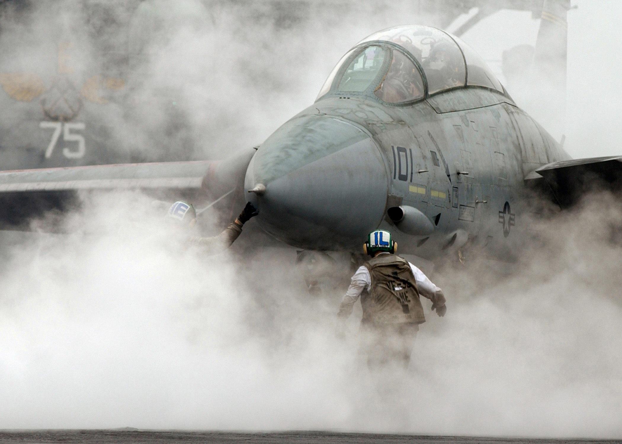 F-14 am Katapult
