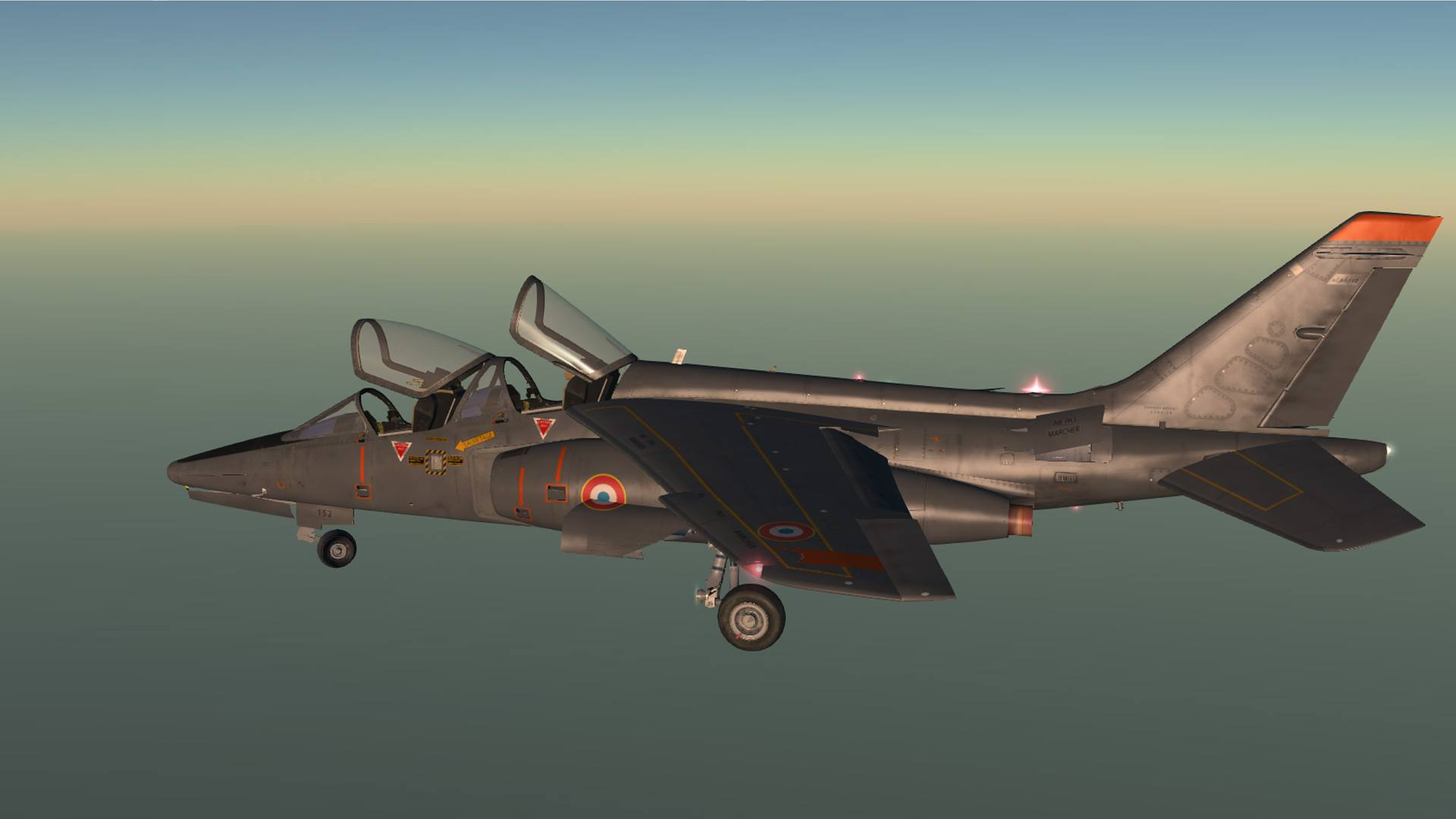 Alpha Jet von Red Wing Simulations